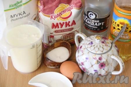 рецепт приготовления блинчиков из гречневой муки