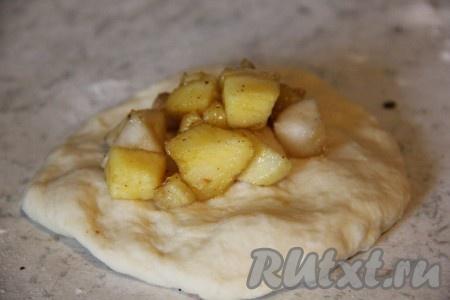 Сдоба с яблоками рецепт пошагово в духовке