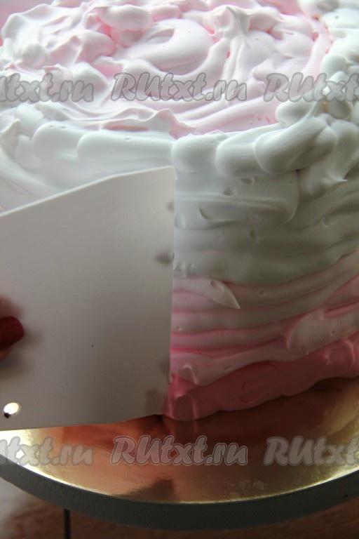 Рецепт крема для выравнивания торта