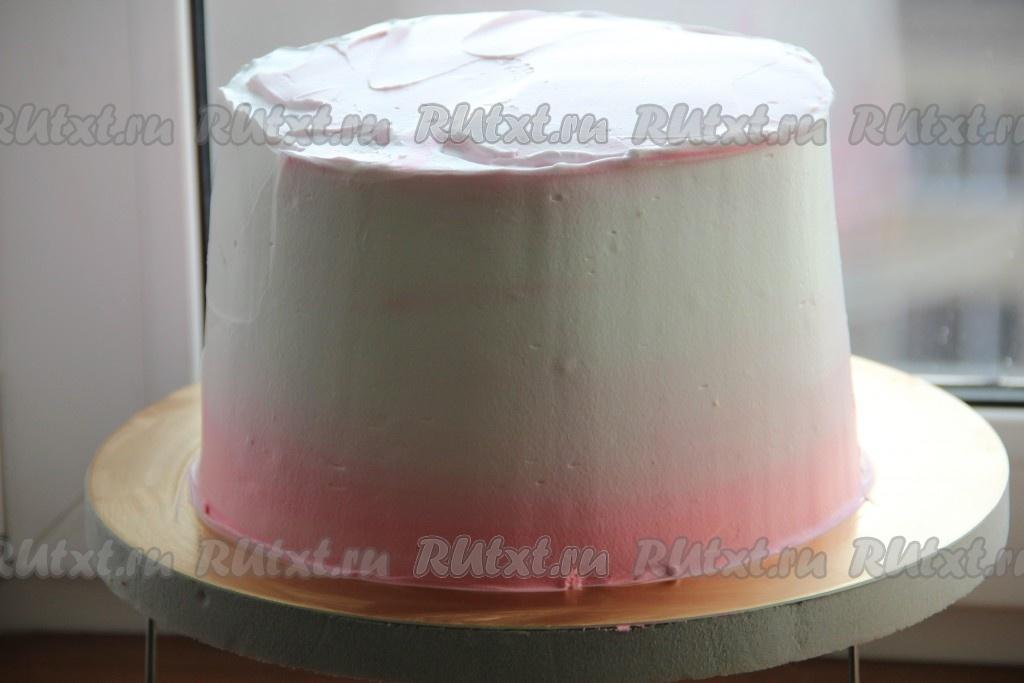 Крем под глазурь рецепт с пошагово