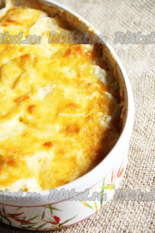 картофель в духовке без сыра рецепт