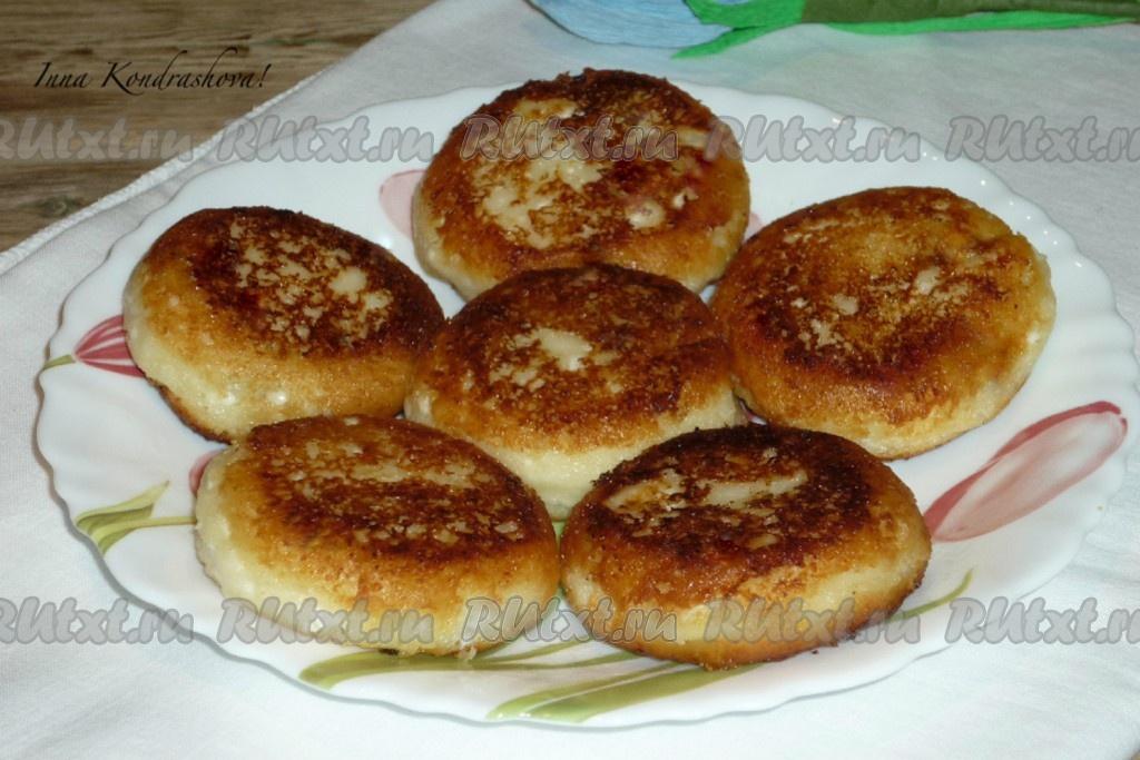 сырники в духовке с начинкой