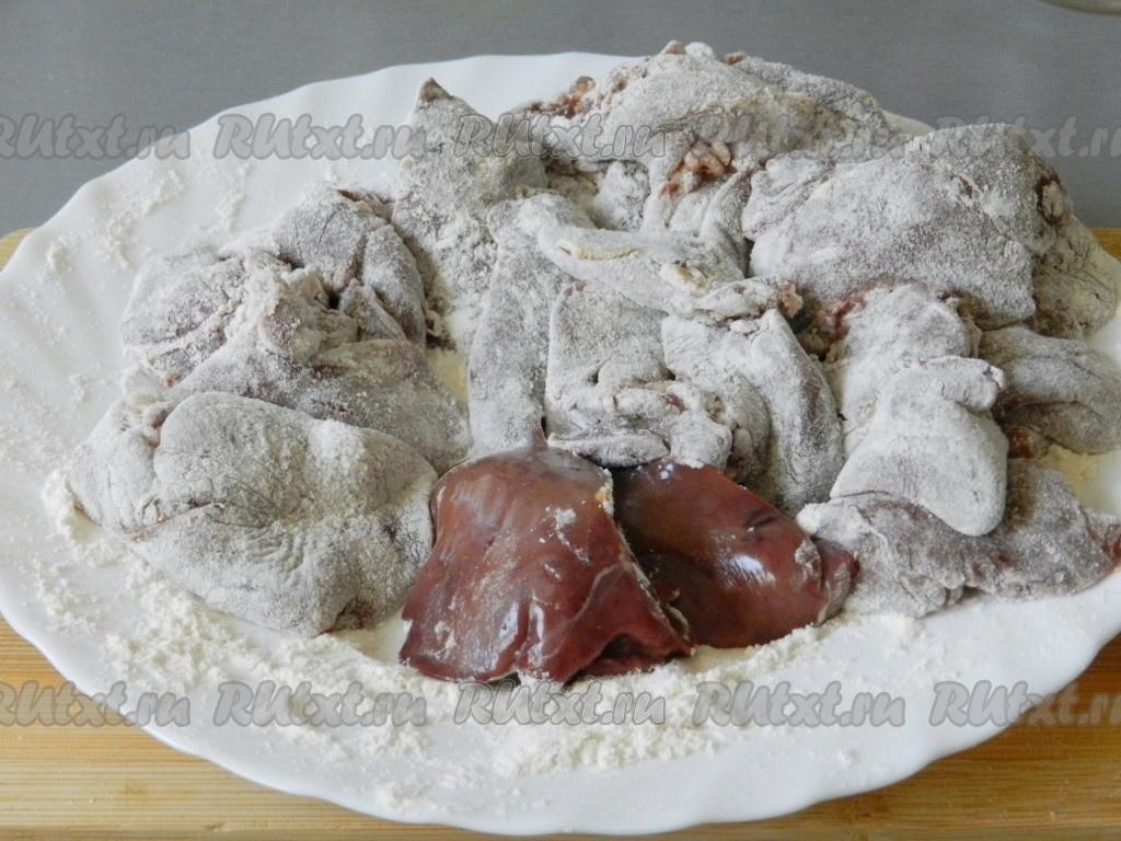 печенка со сливками рецепт с фото