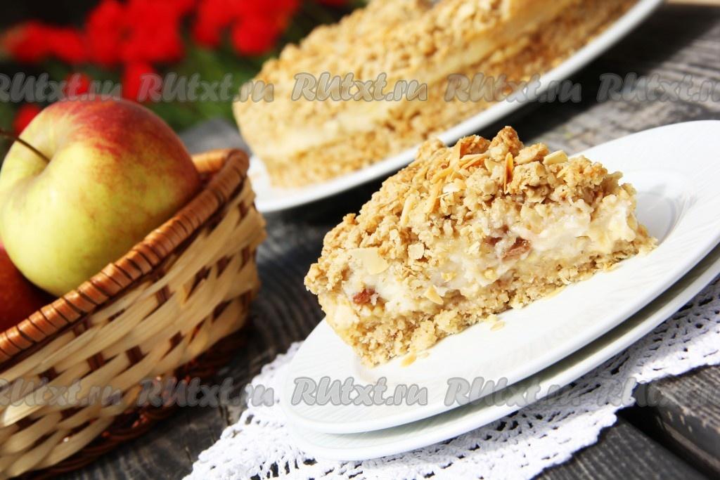 Яблочно творожный кекс в микроволновке