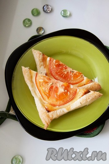 Помидоры сыр слоеное тесто рецепт