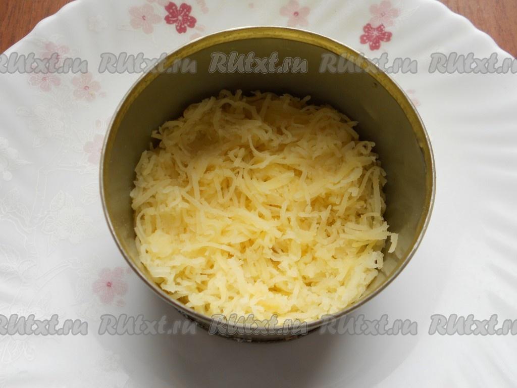 Мимоза с соленой семгой рецепт