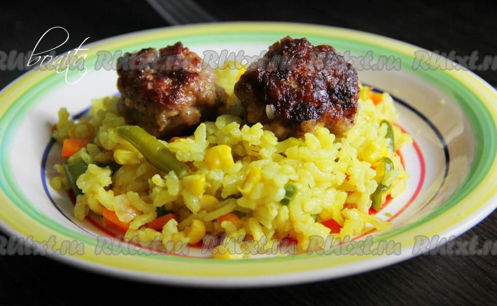 рецепт приготовления риса с овощами