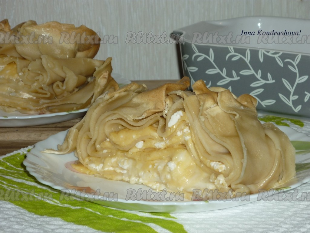 Рецепт сырного пирога сабурани