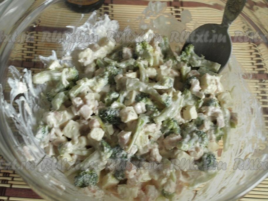 рецепты салатов с брынзой и капустой