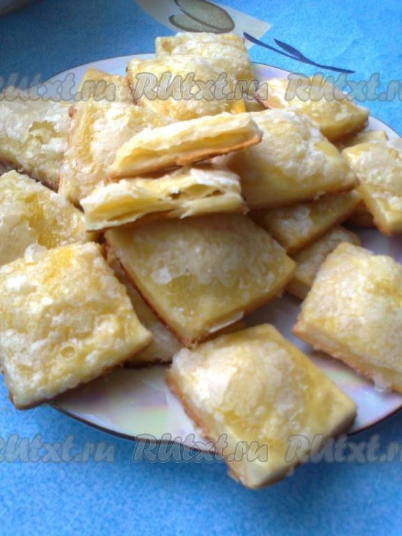 слоеное печенье рецепты с фото