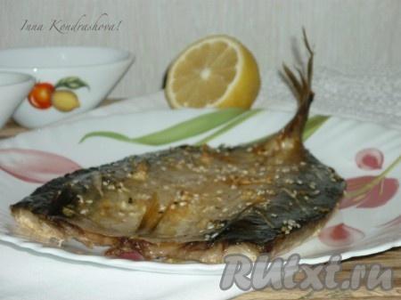 запеченная рыба в духовке с лимоном