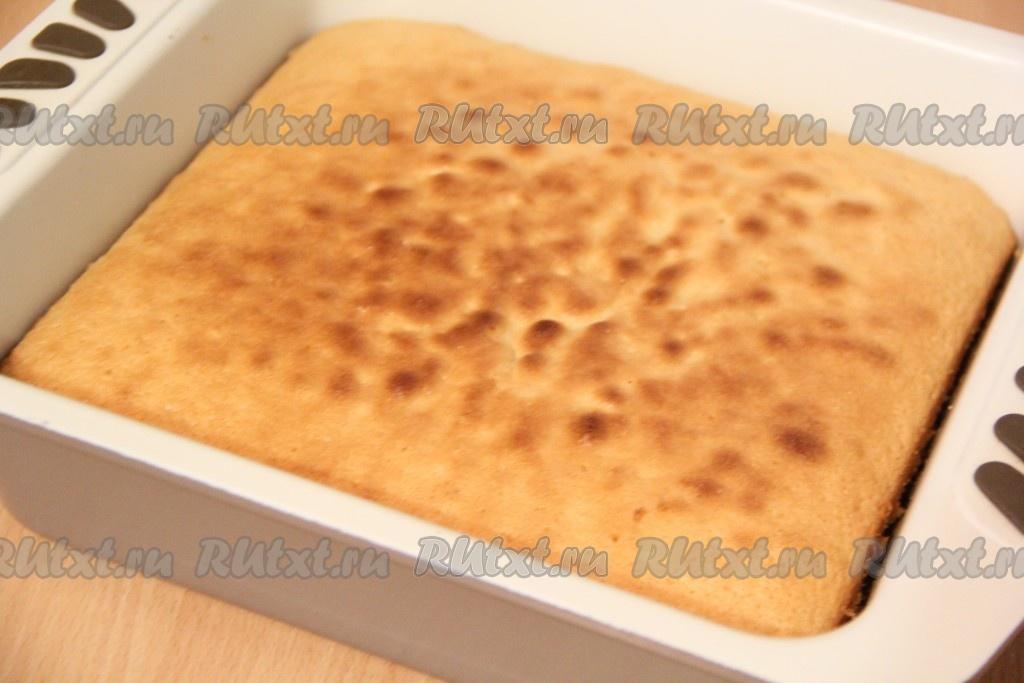 Пирог 3 молока рецепт