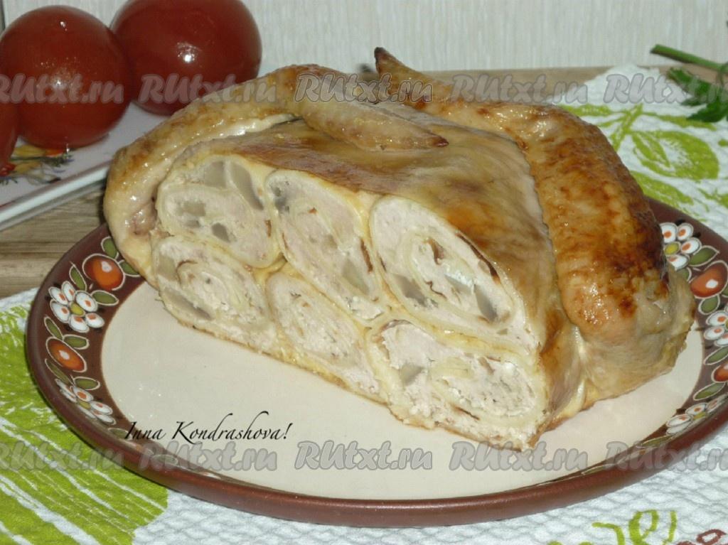 Запеканка картофельная с фаршем и овощами рецепт