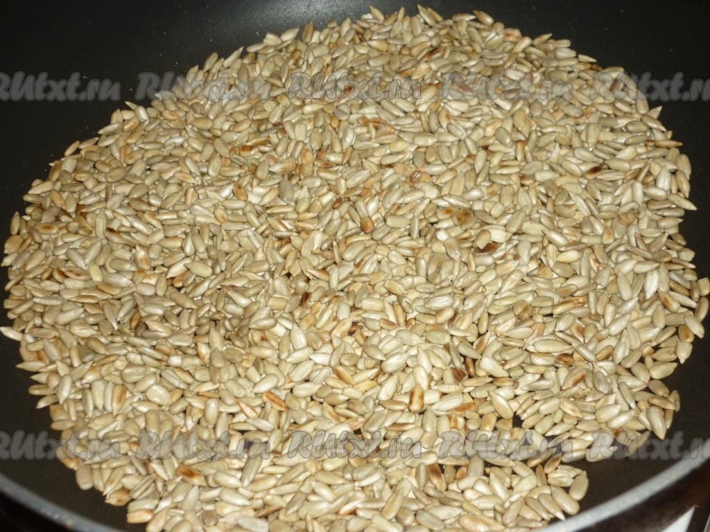 рецепт приготовления домашней халвы из семечек