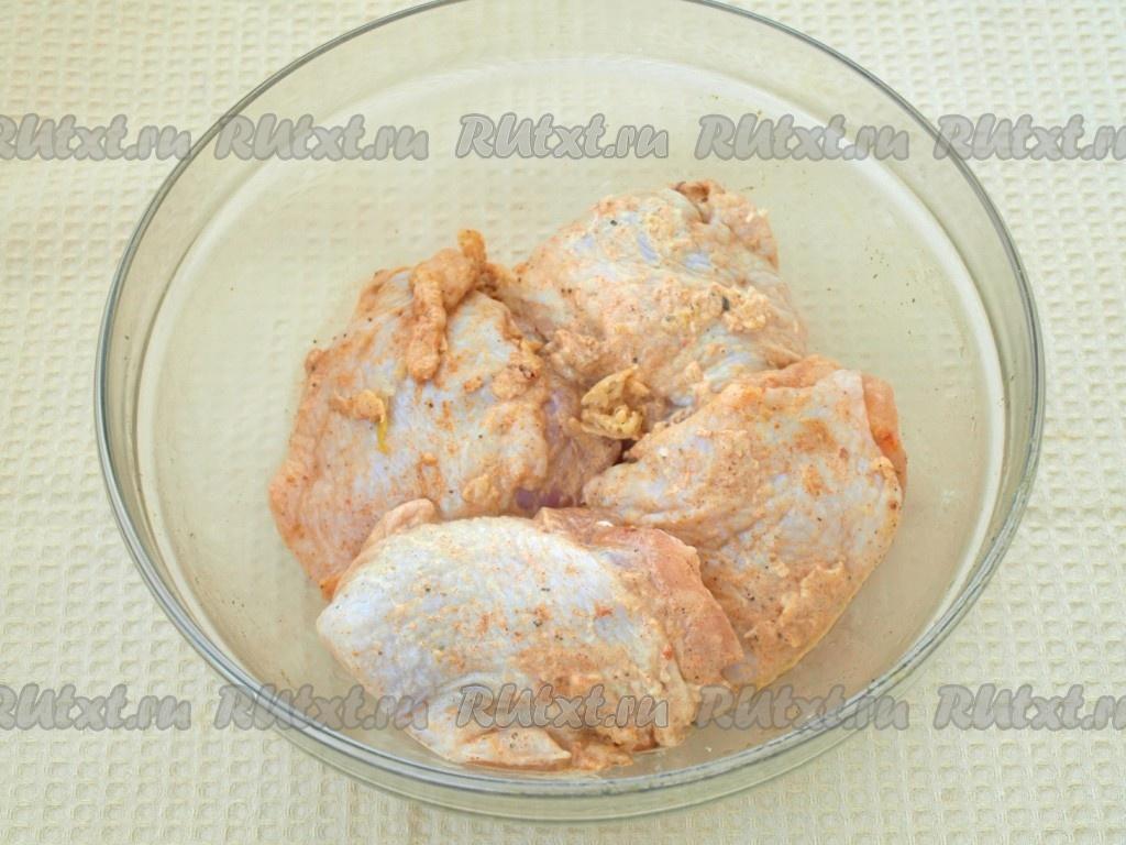 Рецепт бедрышек с картошкой в мультиварке