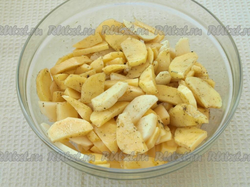 рецепты приготовления куриных бедрышек с картошкой в духовке