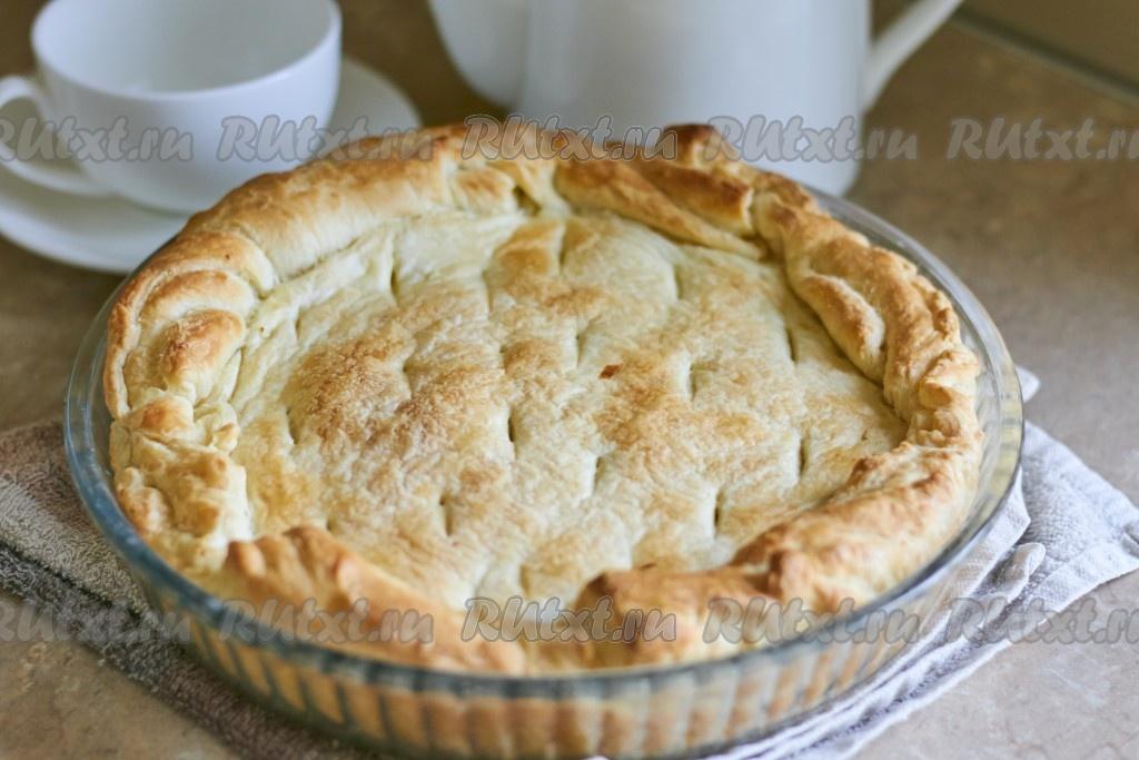 Пирог с капустой быстро и просто пошагово
