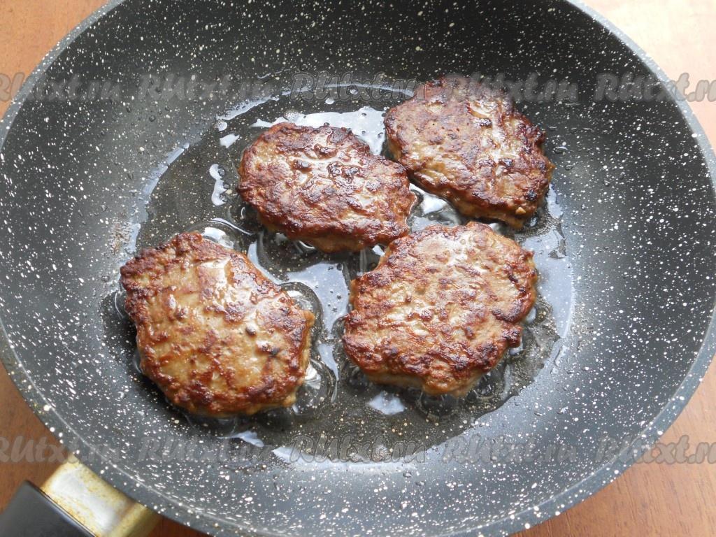 котлеты из свиной печени в духовке рецепт