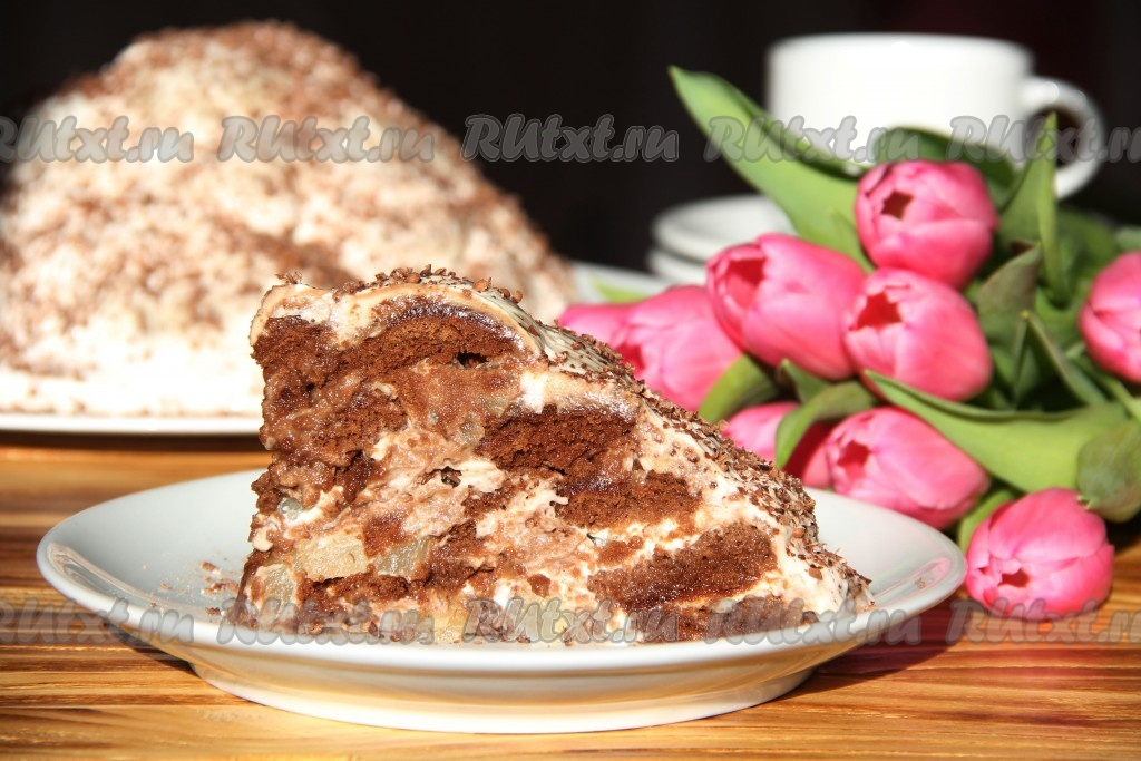 торт из творога сметаны и желатина без выпечки рецепт с фото