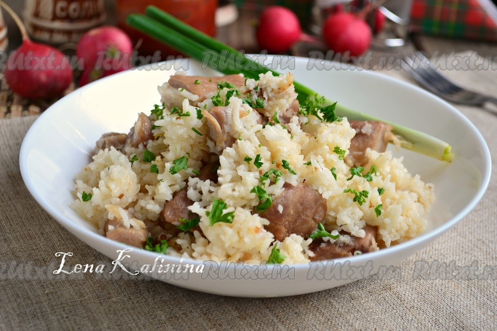 Kelly с рецепт с рисом фото Жаркое you