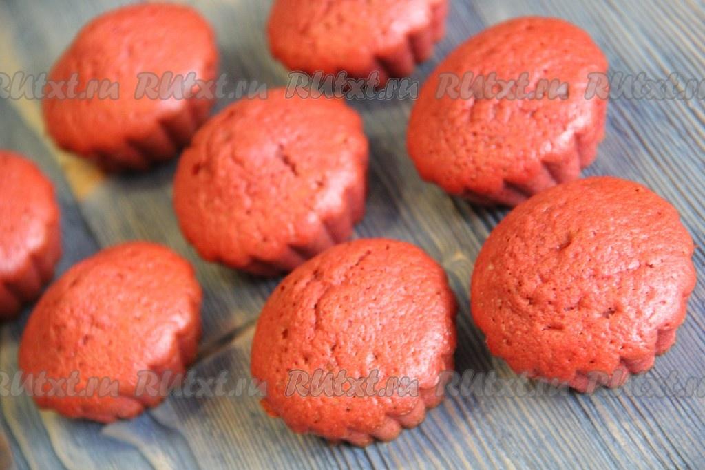 Кекс красный бархат рецепт пошагово