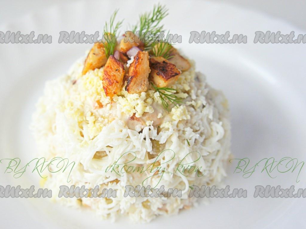 оливье из куриной грудки рецепт с фото