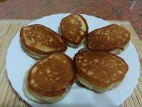 Оладьи на кефире и сметане без яиц - рецепт пошаговый с фото