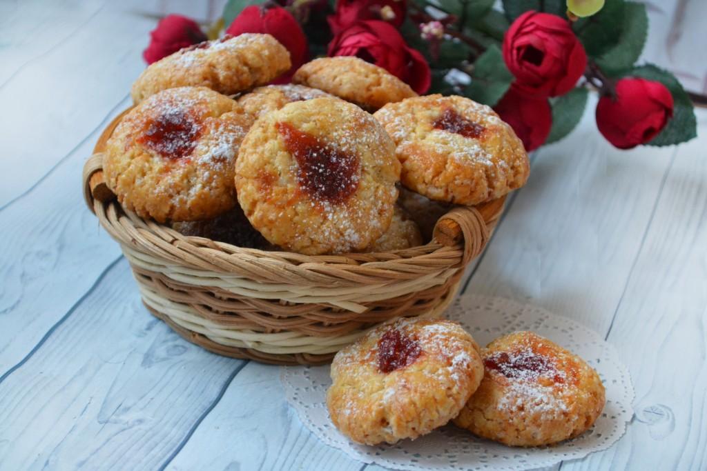 печеньки на кефире в духовке рецепт